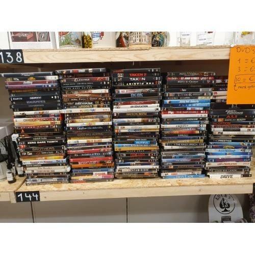 Dvds van een filmliefhebber