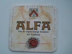 3 bierviltjes ALFA