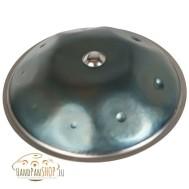 handpan B&B, scale C-Moll Pentatonic in blue steel
