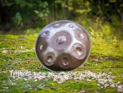 Timbre handpan C# Amara, stainless steel