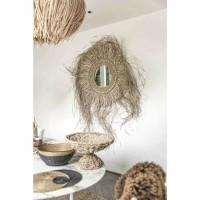 Bohemian Natuurlijke Wandspiegel - The See Grazz Mirror