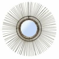 Bohemian Zwarte Wandspiegel - The Tropical Mirror L