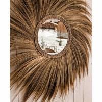 Bohemian Natuurlijke Wandspiegel - The Simba Mirror L