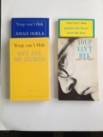 Boeken Youp van 't Hek, 4 stuks