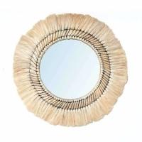 Bohemian Natuurlijke Wandspiegel - The Pretty Blonde Mirror…