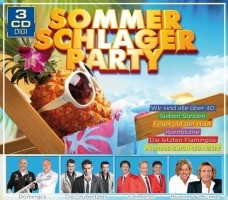 Divers – Sommer-Schlager-Party (3CDbox)