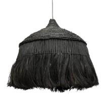 Bohemian Gras Hanglamp - The Abaca Hoola Black