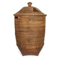 Bohemian Rotan Wasmand - The Colonial Natural Brown XL