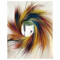 Bohemian Gekleurde Wandspiegel - The Lollipop Mirror