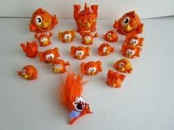Oranje poppetjes