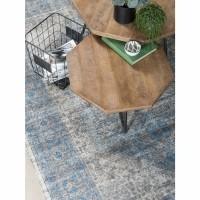 Vloerkleed Madel Groen/Blauw 160 x 230 cm