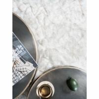 Vloerkleed Donsie White 160 x 230 cm