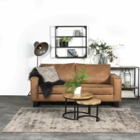 Karpet Viscose Dark Grey 200 x 280 cm