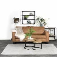 Karpet Viscose Light Grey 160 x 230 cm