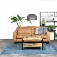 Karpet Viscose Dark Blue 200 x 280 cm