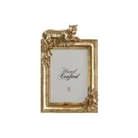 GEVORA fotolijst - Polystone & Glas - Antik Gold
