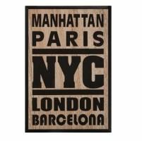 Muurdecoratie 38x58 cm Manhattan
