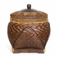 Bohemian Rotan Mand - The Colonial Natural Brown