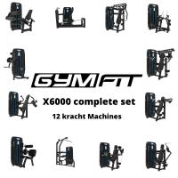 GymFit X6000 Complete set   12 Kracht Machines   LEASE  
