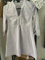 Witte tuniek/blouse maat S