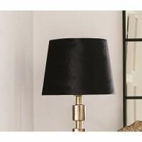 STAZIE lampenkap - Velvet - Zwart