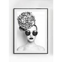 ROSA poster – Gedrukt papier – Zwart & Wit – 30×40 cm