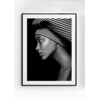MALALA poster – Gedrukt papier – Zwart & Wit – 30×40 cm