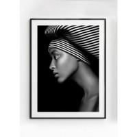 MALALA poster – Gedrukt papier – Zwart & Wit – 50×70 cm