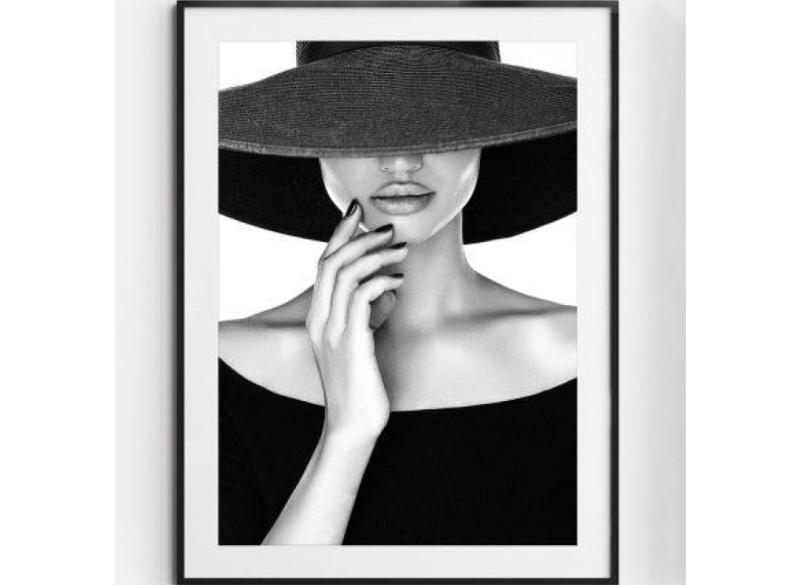 JANE poster – Gedrukt papier – Zwart & Wit – 30×40 cm