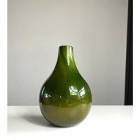 GREEN LOVE vaas – Glas – Groen