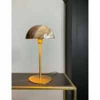 CHULA lamp - Metaal - Rosé/Goud & Marmerlook