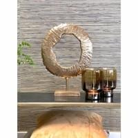 CERCLE ornament - Metaal - Goud - Groot
