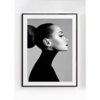 ANGELINA poster – Gedrukt papier – Zwart & Wit – 50×70 cm