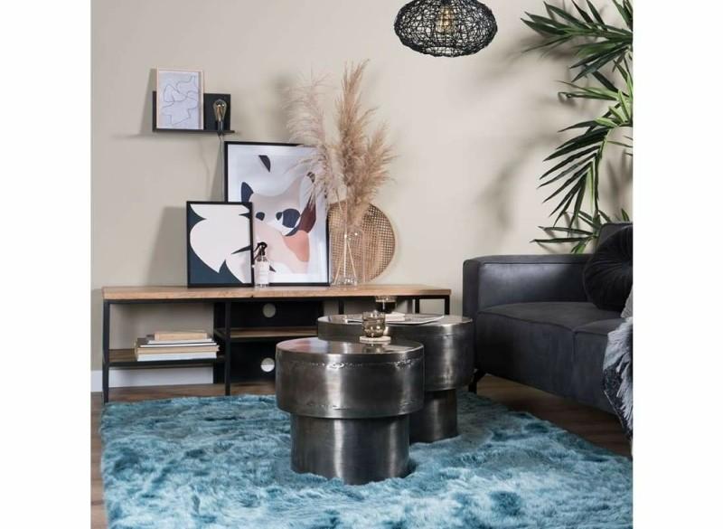 Vloerkleed Donsie Blue 180 x 260 cm