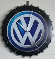 Bierdop / Kroonkurk wandklok VW