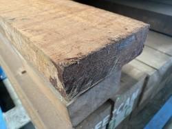 50x150 mm hardhouten fijn bezaagde ligger