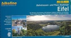 Fietsgids Eifel Flüsse und Bahntrassen Radweg Bikeline Este…