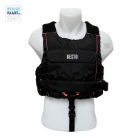 Besto Sailor   All Black/Orange   50N XL