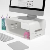 Dataflex Addit Bento monitorverhoger - Grijs, Wit
