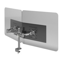 Dataflex Addit dubbele monitor hygiënescherm - monitor 32 -…