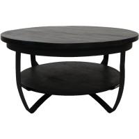 Tweedekans Salontafel Cilamon - 90 cm & 70cm Set - Zwart bl…
