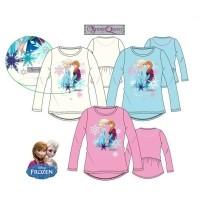 Frozen Elsa / Anna shirt - lange mouw 8 jaar (122/128) blau…