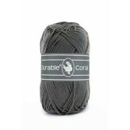 Durable Coral Katoen 50 gram Charcoal 2236