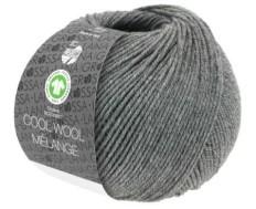 Lana Grossa Cool Wool Big Mélange Gots Donkergrijs Nr 221
