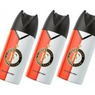 Feyenoord Rotterdam Deodorant Spray Multi Pack - 3 x 150 ml