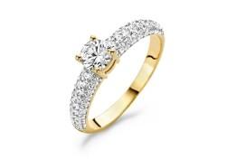 Ring 1135YZI- Geel Goud (14Krt.)