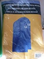 2 kledingbeschermhoezen 62x135cm