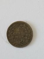 5 cent willem III 1862