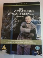 4dvd box - all creatures great & small - series 5