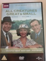 3dvd box - all creatures great & small - series 1 vol 1